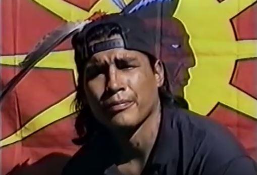 "James Pitawanakwat, Anishinaabe, who used the codename ""OJ."""