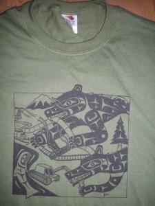 T Shirt Bear Wolf MG