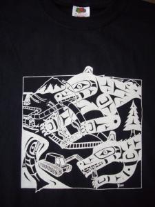 T Shirt Defender black