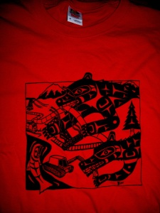 T Shirt Defender Red