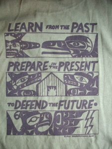 T Shirt Learn from Past MG
