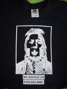 T Shirt No Justice Black