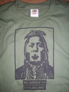 T Shirt No Justice MG