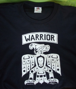 T Shirt Warrior Black