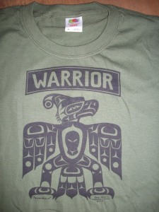 T Shirt Warrior MG