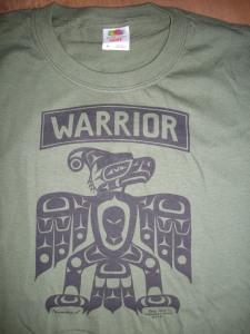 T Shirt Warrior MG