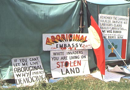 Green ... & Australia: 40 Year Anniversary of Aboriginal Tent Embassy ...