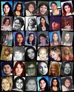 Missing Murdered Women photos