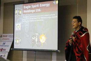 Calvin Helin of Eagle Spirit Energy, which proposes a bitumen refining facility on the coast.