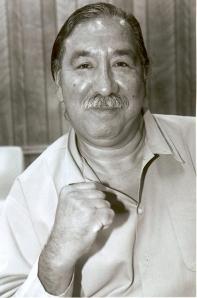 Leonard Peltier, Native American Prisoner of War  in the USA, currently held in a Florida prison.