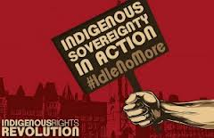 Idle No More protest graphic