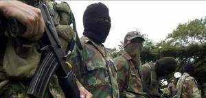 Guerrillas of the EPR in southern Mexico.