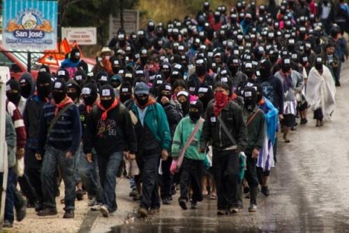 Zapatistas Dec 21 chiapas 2