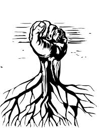 Grassroots fist logo
