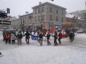 INM round dance in Kingston, Jan 28, 2013.