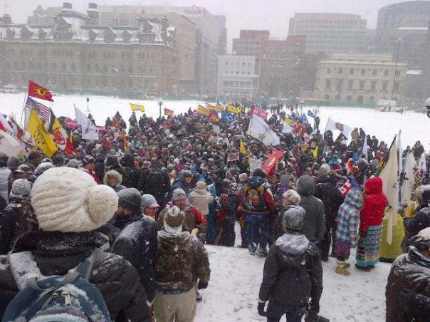 Ottawa, INM rally Jan 28, 2013.