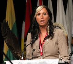 Pam Palmater attempts to gain position of national chief of AFN during elections, June 2012.