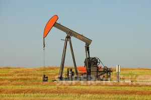 Oil pump in Saskatchewan.