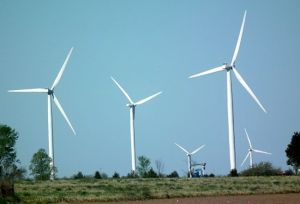 The type of wind turbines being resisted by 6 Nations members and others.