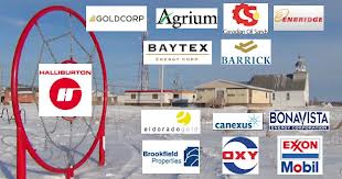 Some of the corporations the Attawapiskat band has investments in through its trust fund established with money from the De Beers mine.