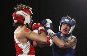 Brazeau fighting for his life during charity boxing event with Justin Trudeau.