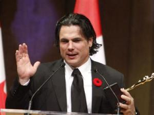Patrick Brazeau, Aboriginal member of Canadian Senate appointed by PM Harper.
