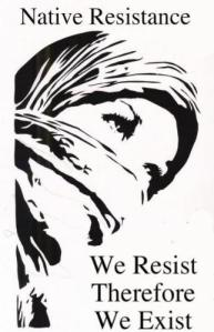Native Resist Exist graphic