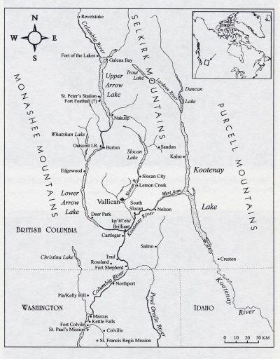 Sinixt map