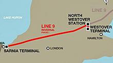 Enbridge line 9 map ontario