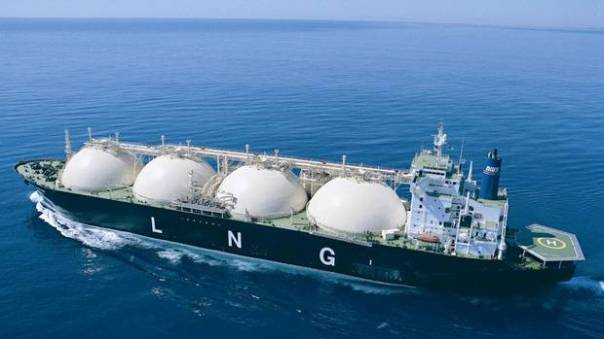 Natural Gas LNG ship