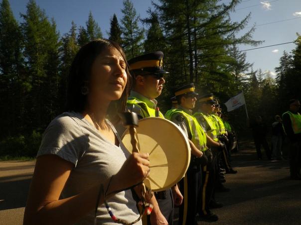New Brunswick drummer cops