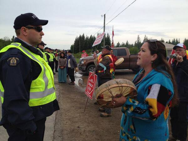 New Brunswick gas protest 3