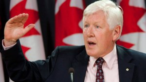 Bob Rae in his role as a member of the colonial regime.