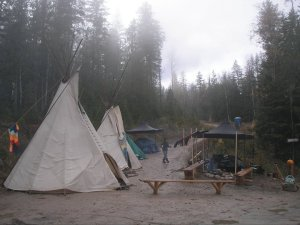 Sinixt Protection-Camp