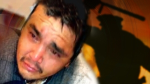 Norbert Mestenapeo, a 24 year old Innu assaulted by SQ.