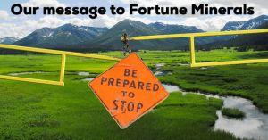 Tahltan fortune minerals sign
