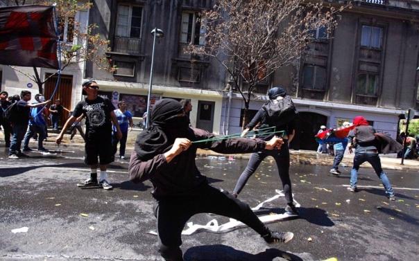 Mapuche Chile anti-columbus 2013
