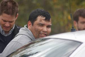 One of some 40 people arrested by RCMP on Oct 17, 2013.