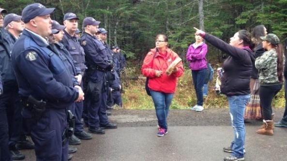 New Brunswick Oct 17 women point
