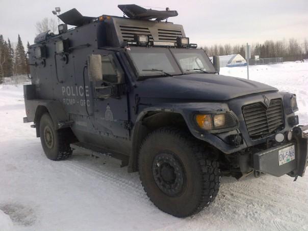 RCMP TAV in Prince George, 2013.