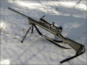Remington 700, a 7.62mm sniper rifle, one of the types used by RCMP ERT snipers.
