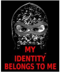 Mask my identity graphic