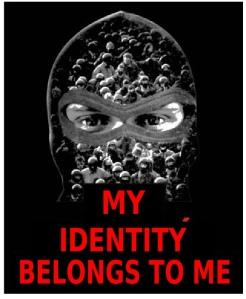 Mask my identity graphic