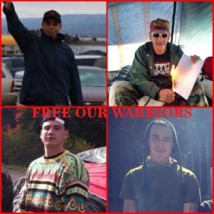 New Brunswick Mi'kmaq free our warriors