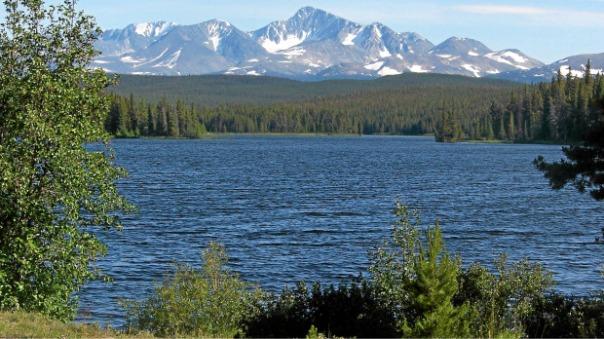 Fish Lake, targeted by Taseko's proposed mine.