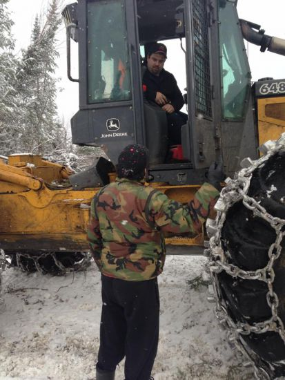 Barrier Lake blockade Dec 3 2013