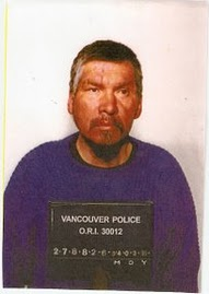 """I'd like to thank the Vancouver police..."" Frank Paul, a Native left unconscious in an alley by Vancouver police who died of hypothermia in December, 1998."