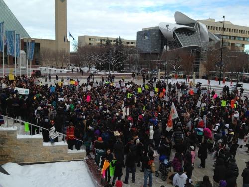 INM rally in Ottawa on Dec 10, 2012.