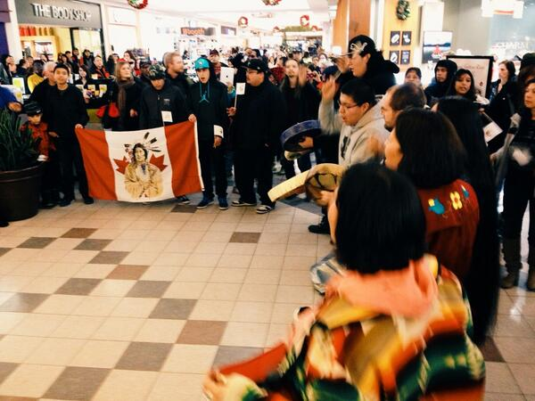 INM anniversary rally in Lethbridge, Alberta, Dec 21, 2013.