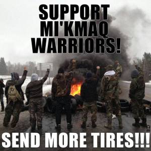 New Brunswick send more tires